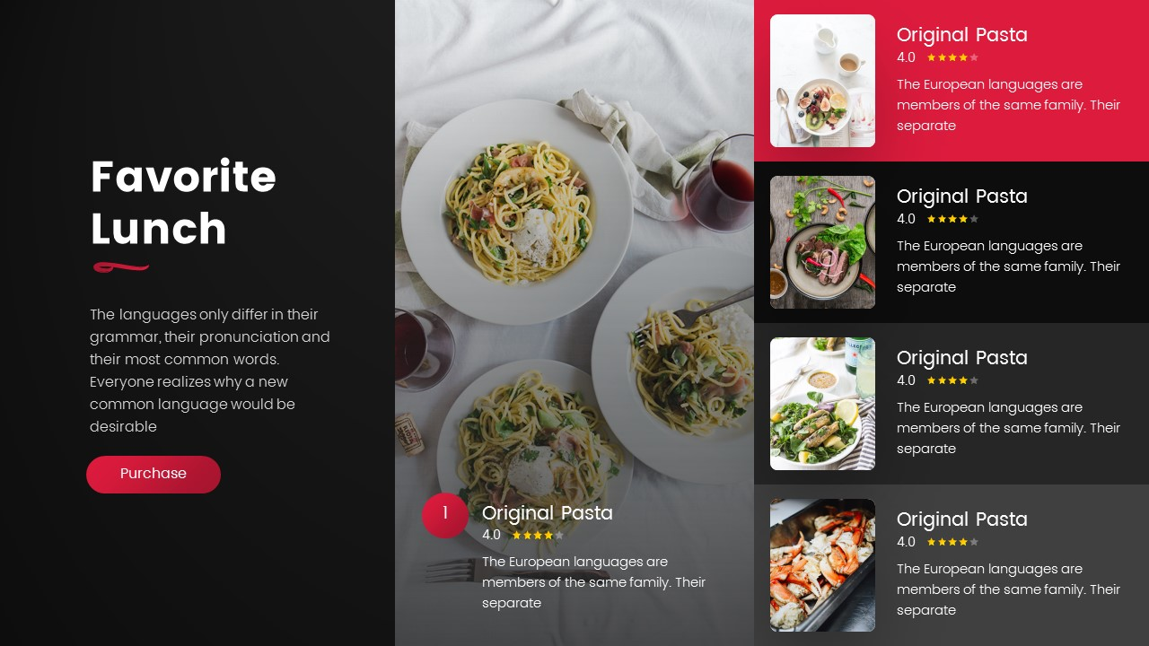 Baratie's Restaurant PowerPoint Template