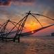 Chinese fishnets on sunset. Kochi, Kerala, India - PhotoDune Item for Sale