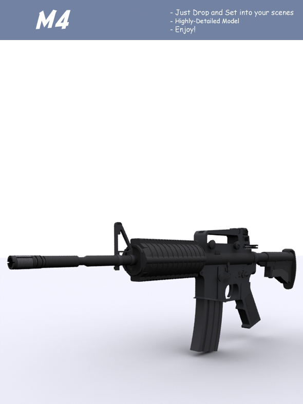 M4 - 3DOcean Item for Sale