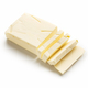 Piece of sliced butter on white - PhotoDune Item for Sale
