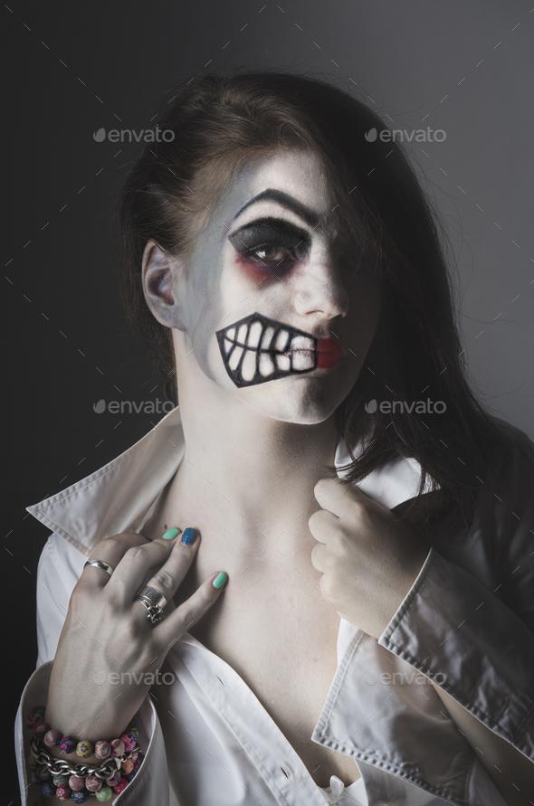 Halloween mask - Stock Photo - Images