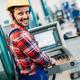 industrial factory employee working in metal manufacturing industry - PhotoDune Item for Sale