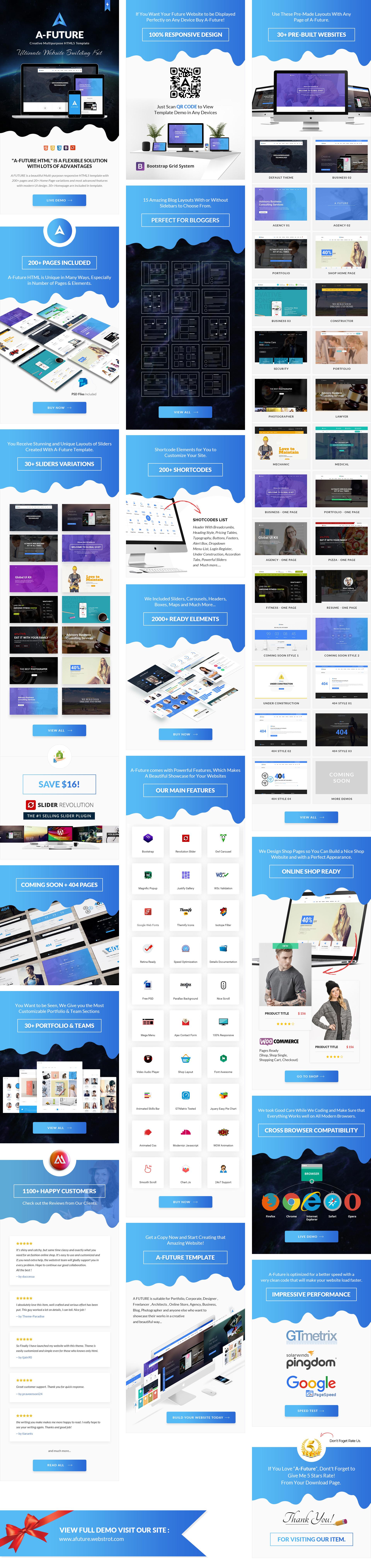 A Future - Creative Multi-purpose HTML Template