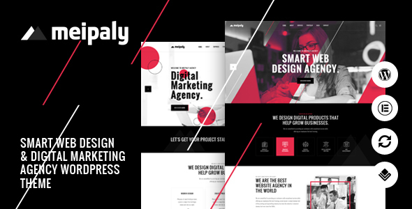 Meipaly – Digital Services Agency WordPress Theme Free Download