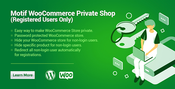 Motif WooCommerce Private Shop | Registered Users Only WordPress