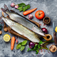 Fish pike on the kitchen board - PhotoDune Item for Sale
