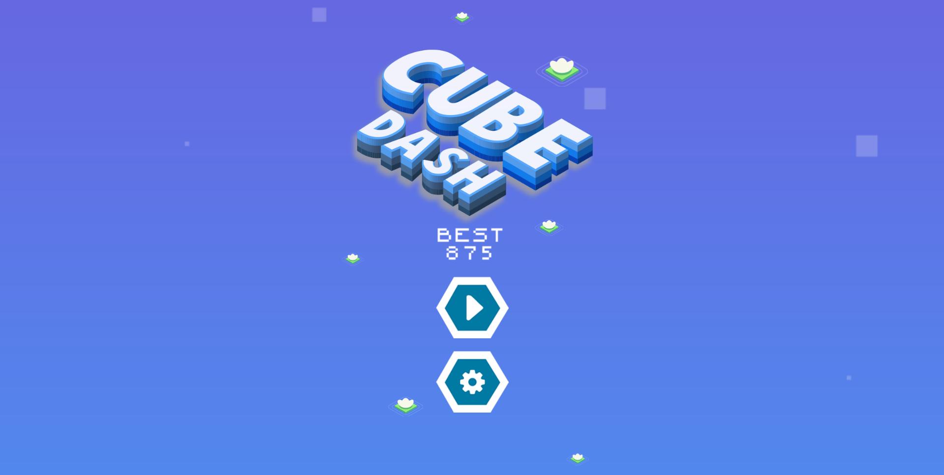 Cube Dash Isometric HTML5 Game + Construct 2/3 Files