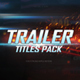 Trailer Titles Pack for Apple Motion and FCPX - VideoHive Item for Sale