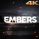 Embers - Cinematic Trailer - VideoHive Item for Sale