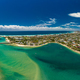 Aerial drone view, Tallebudgera Creek and beach on the Gold Coas - PhotoDune Item for Sale