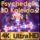 Psychedelic Kaleida VJ Pack - VideoHive Item for Sale
