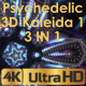 Colourful Psychedelic Kaleida VJ Pack - VideoHive Item for Sale