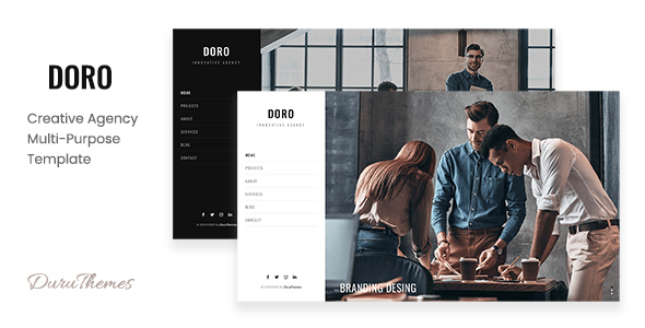 DORO - Creative Agency Multi-Purpose Template