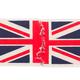 torn paper napkin with united kingdom flag - PhotoDune Item for Sale