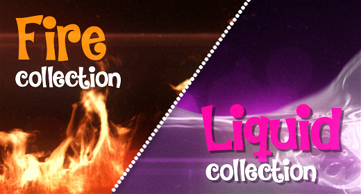 FIRE & LIQUID Collection