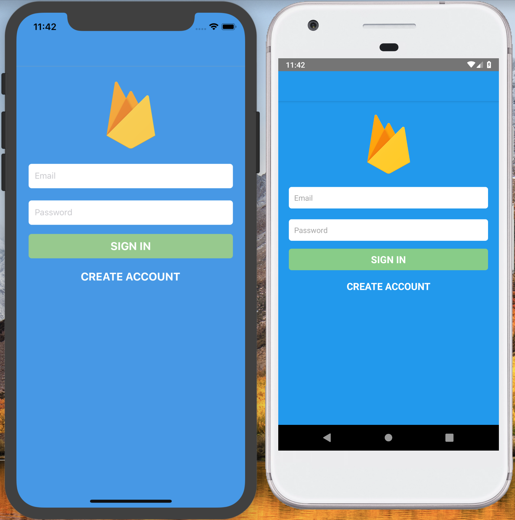 React Native Redux Firebase Chat