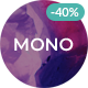 Mono - Creative Multi-Purpose HTML5 Template