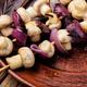 Vegetable kebab with mushrooms - PhotoDune Item for Sale