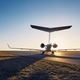 Private jet at sunset - PhotoDune Item for Sale