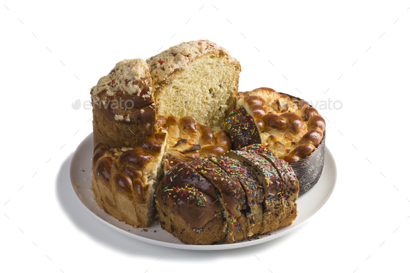 Delicious easter cakes. - Stock Photo - Images