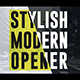 Stylish Modern Opener - VideoHive Item for Sale