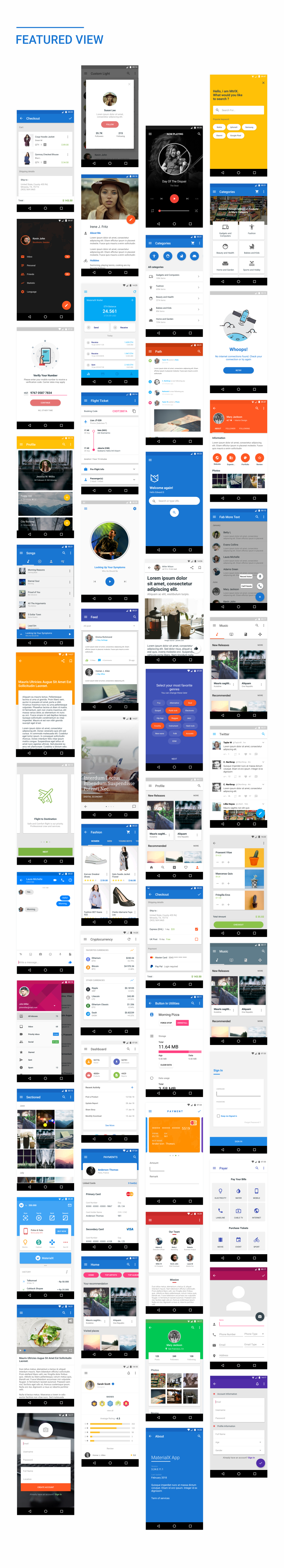 MaterialX - Android Material Design UI Components 2 3