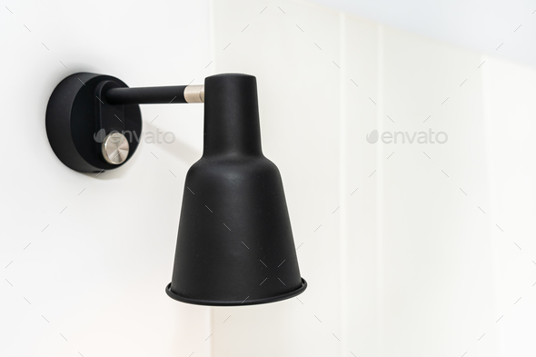 Light lamp decoration interior of room - Stock Photo - Images