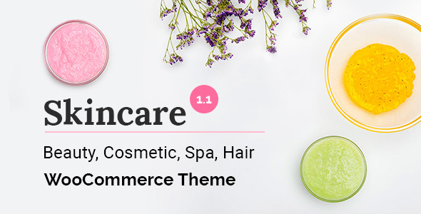 - preview skincare - Skincare – Cosmetics WooCommerce WordPress Theme