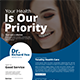 Healthcare Flyer Templates - GraphicRiver Item for Sale