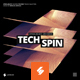 Techspin - Music Album Cover Artwork Template - GraphicRiver Item for Sale