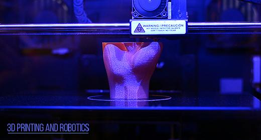 3D printing and robotics