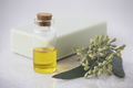 Oil, Soap and Eucalyptus Leaves - PhotoDune Item for Sale
