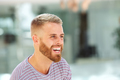 young man with beard laughing - PhotoDune Item for Sale