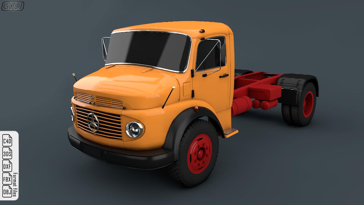Mercedes-Benz Truck 1924-2624 Orange