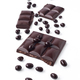 broken tablet of dark chocolate and chocolate balls, isolated on white background - PhotoDune Item for Sale