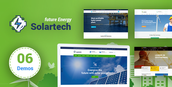 Solar Tech - Renewable Energy HTML Template