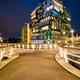 Inntel Hotel in Zaandam illuminated at night, Netherlands - PhotoDune Item for Sale