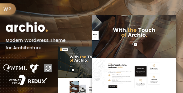 Archio - Architecture WordPress
