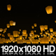 Sky Lanterns Released at Night - VideoHive Item for Sale