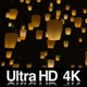 4K Sky Lanterns Flying at Night - VideoHive Item for Sale