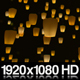 Sky Lanterns Flying at Night - VideoHive Item for Sale