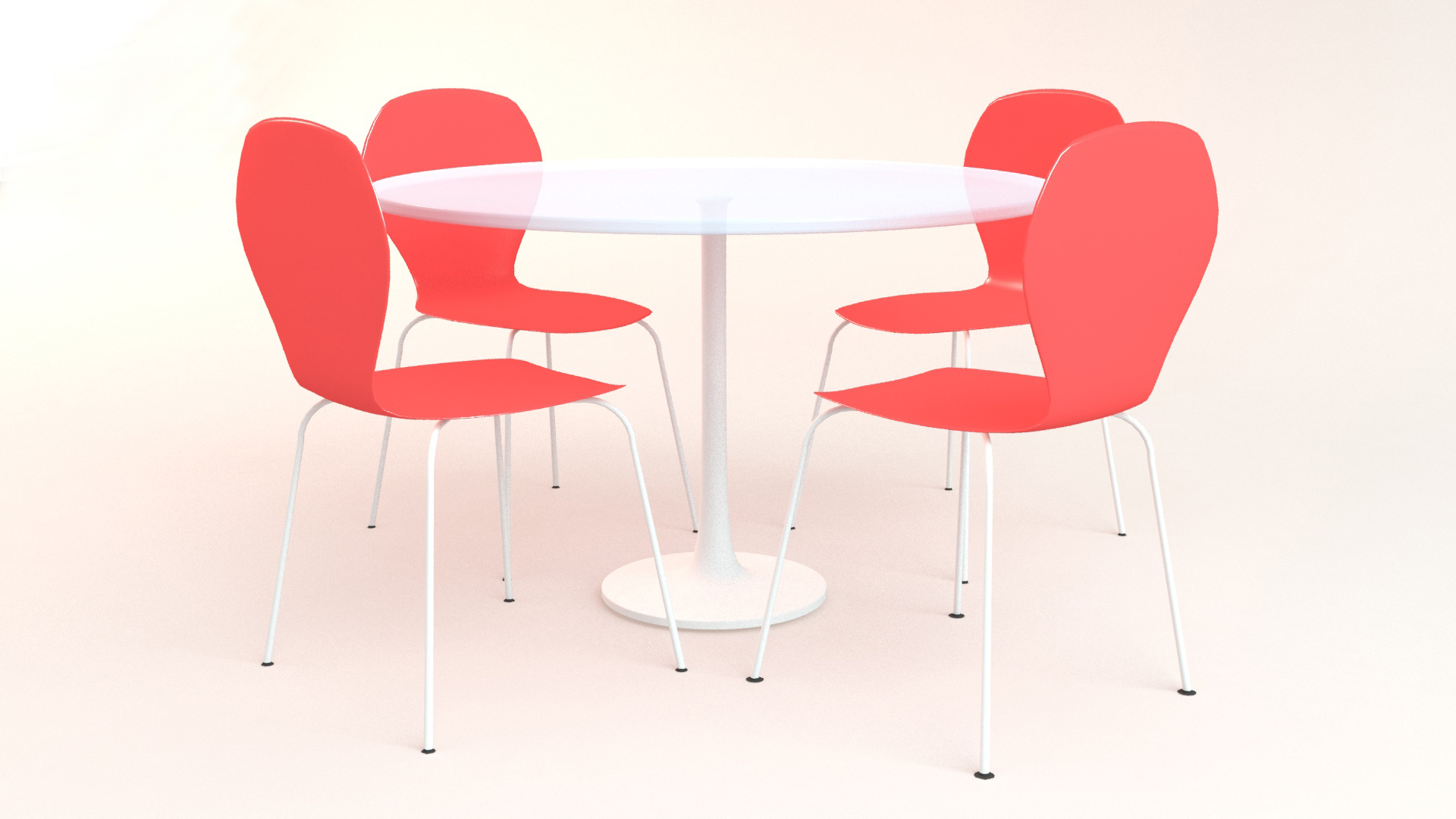 Round Table with Chair