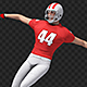 US Football Player Dance (2-Pack) - VideoHive Item for Sale