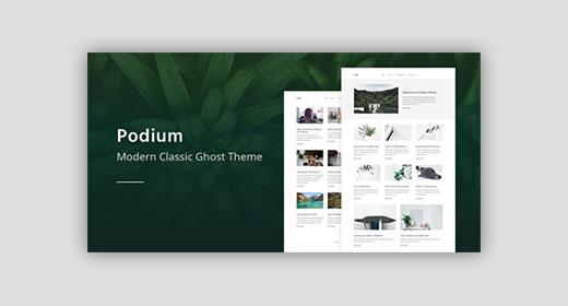 Premium Ghost Themes on ThemeForest