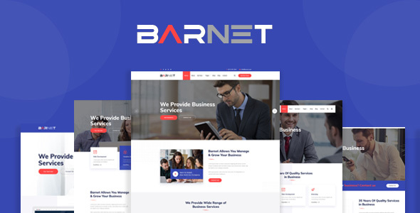 Barnet - Business Consulting and Professional Services HTML Template
