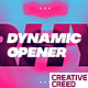 Dynamic Opener / Music Event Promo / Party Invitation / EDM Festival / Night Club / Fast Typography - VideoHive Item for Sale