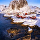 Hamnoy village in winter seasons, Lofoten Islands, Norway - PhotoDune Item for Sale