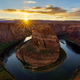 Horseshoe Bend at sunset, Arizona, USA - PhotoDune Item for Sale