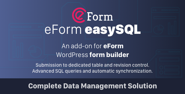 1 3 1] eForm Easy SQL - Submission to DB & Revision Control