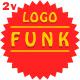 Fashion Lounge Background Funk Logo